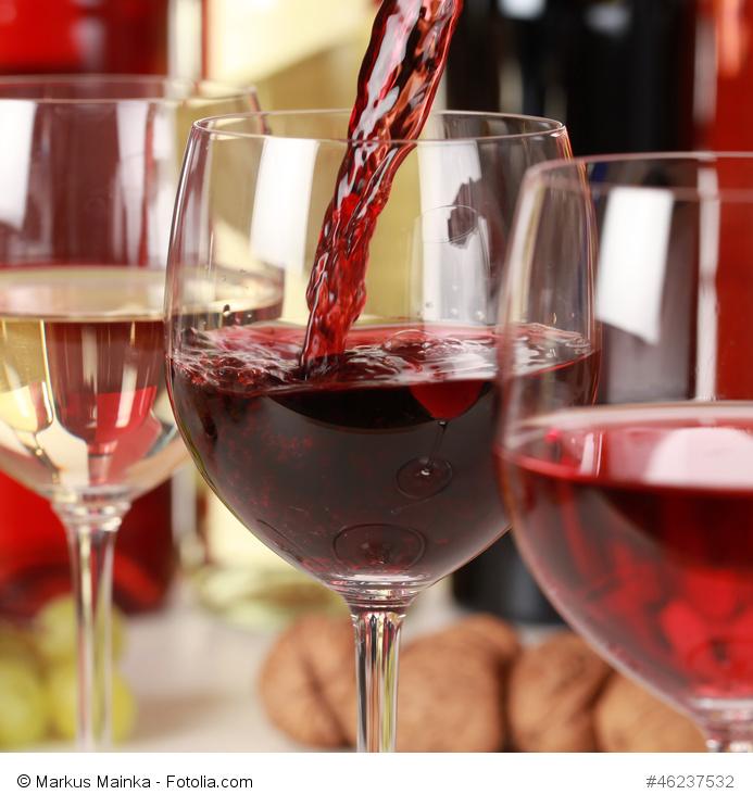 Alkohol und damit auch Rotwein ist schädlich