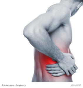 Psychosomatik, Rückenschmerzen als Symptom