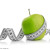 Agavin, Measuring tape wrapped around a green apple